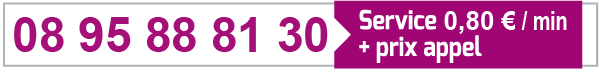 Numéro de téléphone rose